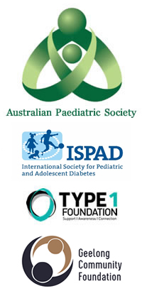 APS and ISPAD and Type1 Foundation and Geelong Community Foundation