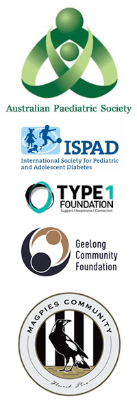 APS and ISPAD and Type1 Foundation, Geelong Community Foundation and Magpies Community